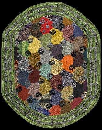 Hooked rug: Geometry