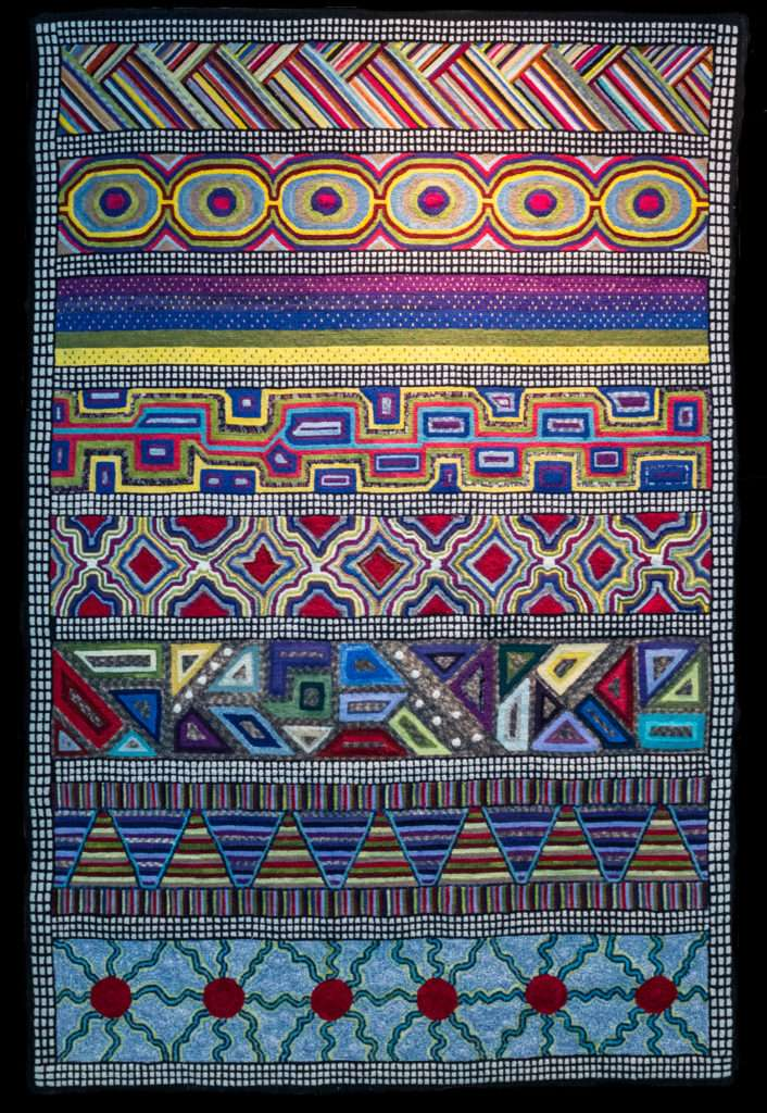 Aborigina patterns by Liz Guth