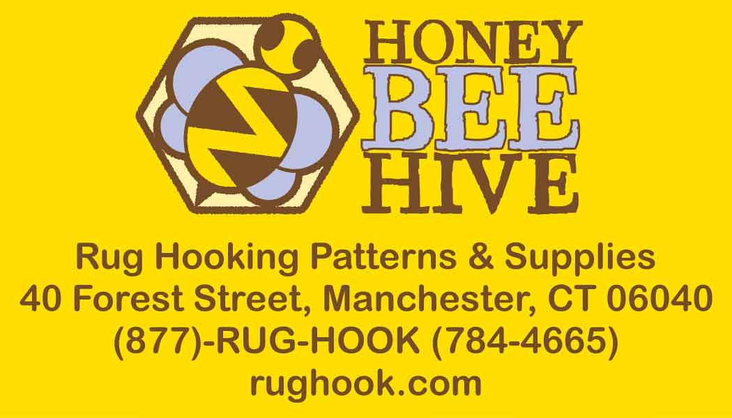 Honey Bee Hive Rug Hooking Patterns & Supplies